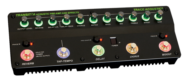 Trace Elliot Transit A Acoustic Pre-amp and Effects - The Guitar World