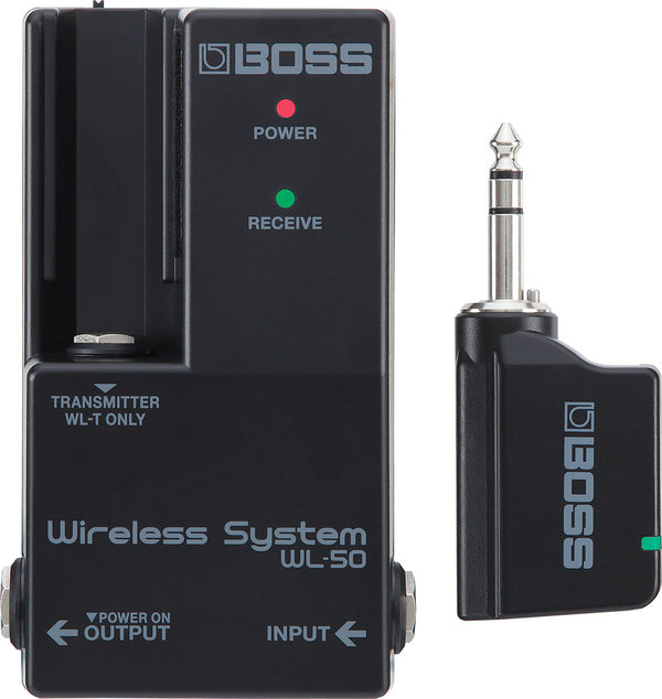 Boss WL-50 Wireless System - The Guitar World
