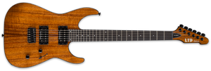 ESP LTD M-1000HT KOA IN NATURAL GLOSS - The Guitar World