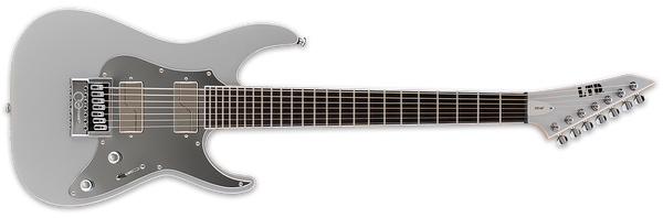ESP LTD KEN SUSI KS M-7 EVERTUNE IN METALLIC SILVER - The Guitar World