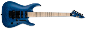 ESP LTD MH-203QM SEE THRU BLUE - The Guitar World