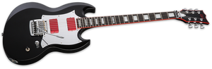 ESP 6-String Solid-Body Electric Guitar Glenn Tipton Signature - LGT600BLK - The Guitar World