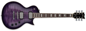 ESP LTD EC-256FM IN SEE THRU PURPLE SUNBURST - The Guitar World