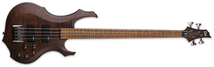 ESP LTD F-204FM IN WALNUT BROWN SATIN - The Guitar World