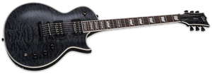 ESP LTD Electric Guitar EC1000 WITH PIEZO LEC1000PIEZOQMSTBLK - The Guitar World