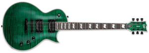 ESP LTD EC-1000 STG DUNCAN IN SEE THRU GREEN - The Guitar World