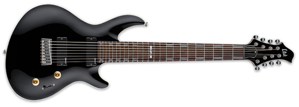 ESP LTD Artist Series JAVIER REYES 8-String Solid-Body Electric Guitar Black - LJR208BLK - The Guitar World