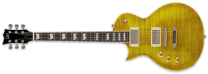 ESP LTD EC-256FM LEFT-HANDED IN LEMON DROP - The Guitar World