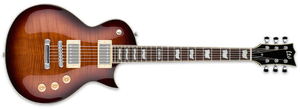 ESP LTD EC-256FM IN DARK BROWN SUNBURST - The Guitar World