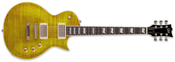 ESP LTD EC-256FM IN LEMON DROP - The Guitar World
