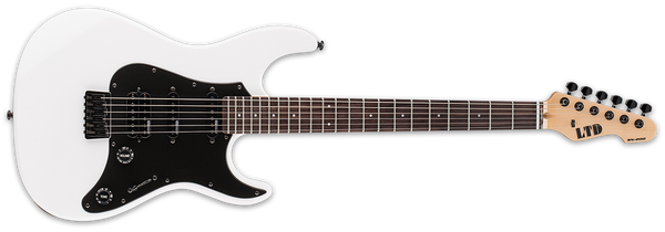 ESP LTD SN-200HT HARD TAIL IN SNOW WHITE - The Guitar World
