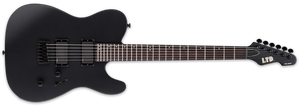 ESP LTD TE-401 IN BLACK SATIN - The Guitar World