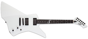 ESP LTD Snakebyte James Hetfield Signature Series Electric Guitar Snow White - The Guitar World