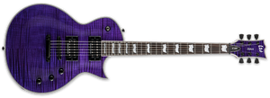 ESP LTD EC-1000 STP DUNCAN IN SEE THRU PURPLE - The Guitar World