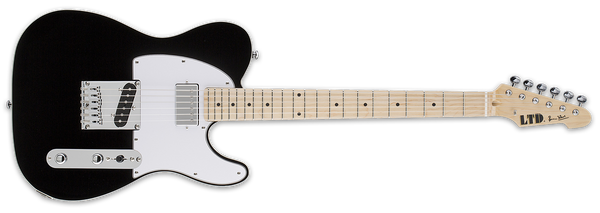 ESP LTD LTD RON WOOD IN GLOSS BLACK - The Guitar World