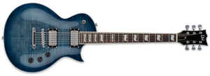 ESP LTD EC-256FM IN COBALT BLUE - The Guitar World