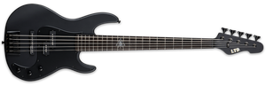 ESP LTD ORION-5 BLACK SATIN ELECTRIC BASS - LORION5BLKS - The Guitar World