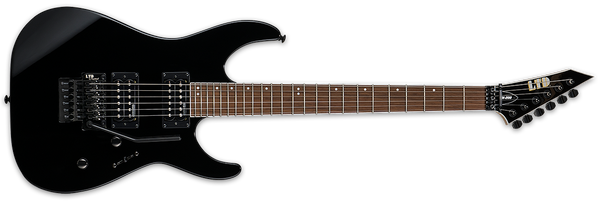 ESP LTD M-200 IN GLOSS BLACK - The Guitar World