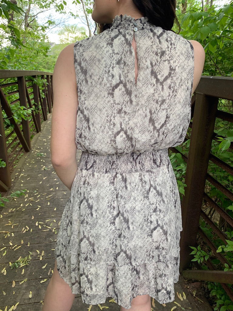 Natasha Snake Dress - Addi & Ains Boutique