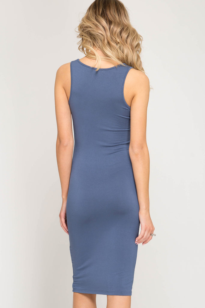 Mila Bodycon Midi Dress - Addi & Ains Boutique