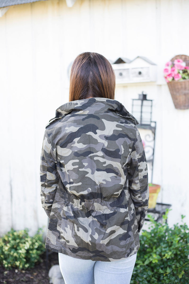Woodsy Camo Jacket
