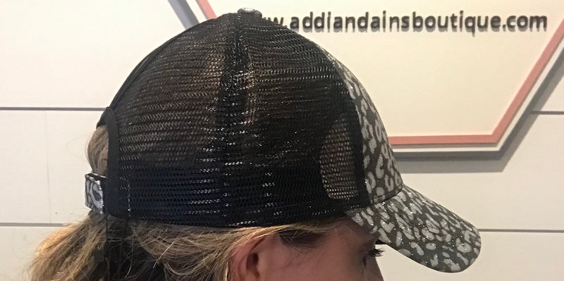 Leopard Hat - Addi & Ains Boutique