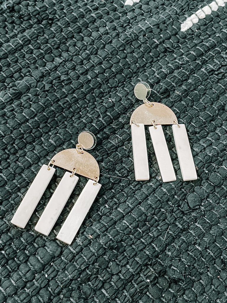 Horn Dangle Earrings