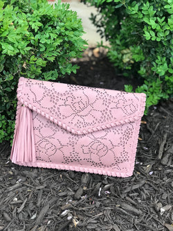 Laser Cut Clutch- Size OS - Addi & Ains Boutique