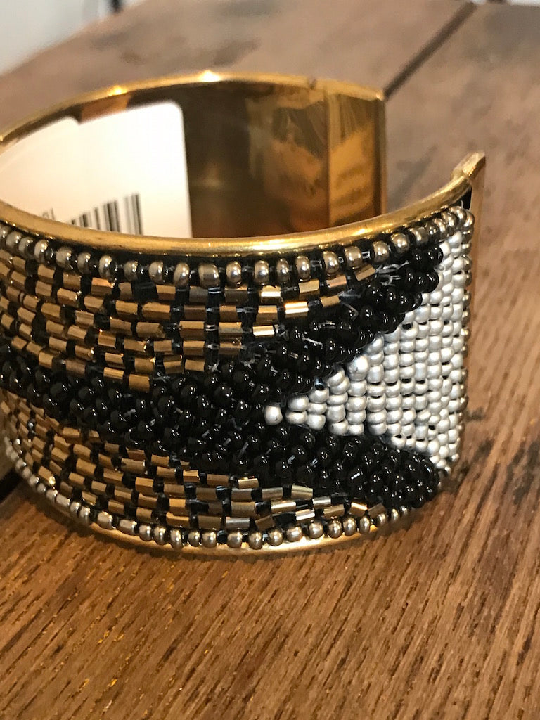 Seed Beaded Cuff - Addi & Ains Boutique