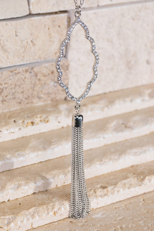 Moroccan Spoon Flower Necklace - Addi & Ains Boutique