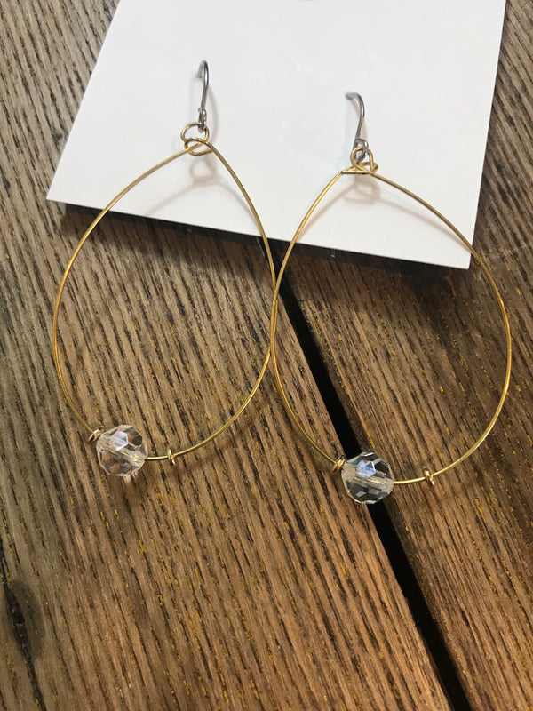 Clear Earrings - Addi & Ains Boutique