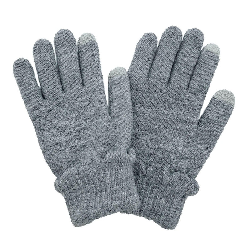 Scallop Knit Gloves