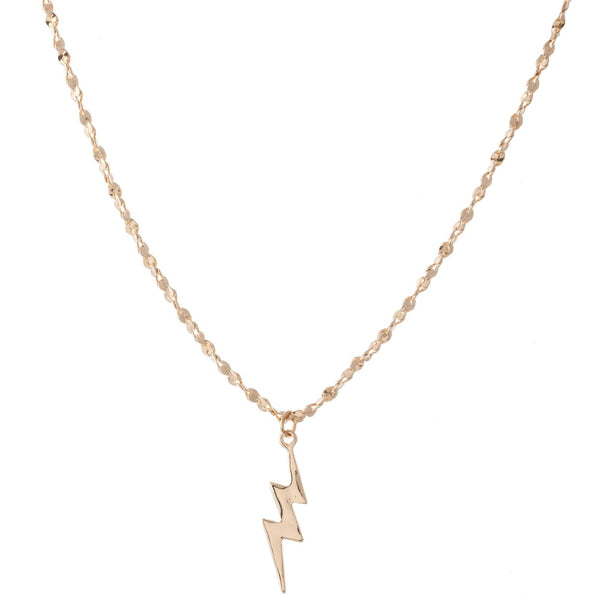 Lightning Bolt Chain Necklace