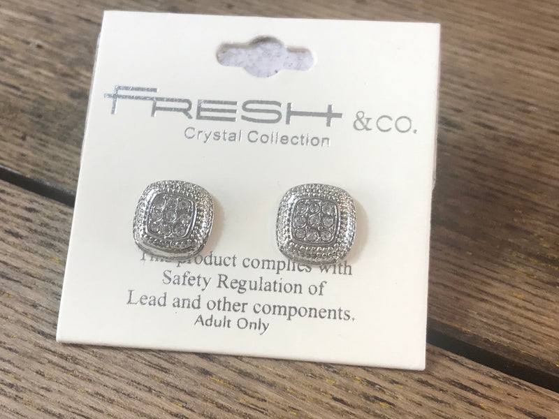 Square Post Earrings - Addi & Ains Boutique