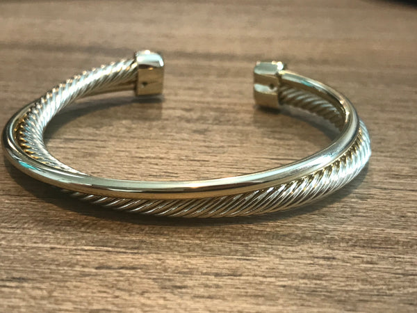 Twisted Cable Cuff - Addi & Ains Boutique