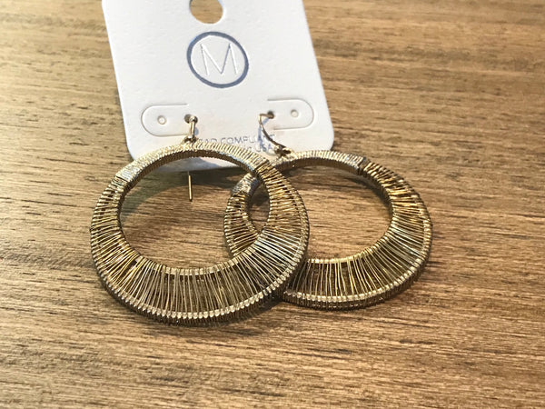 Wire Wrapped Earrings - Addi & Ains Boutique