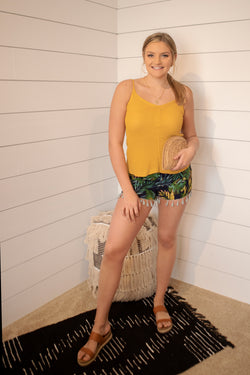 Mandy Palm Shorts - Addi & Ains Boutique