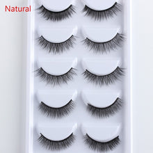 Load image into Gallery viewer, KIMMY'S KOSMETICS-- Faux Lashes, 5 Pair Multipack