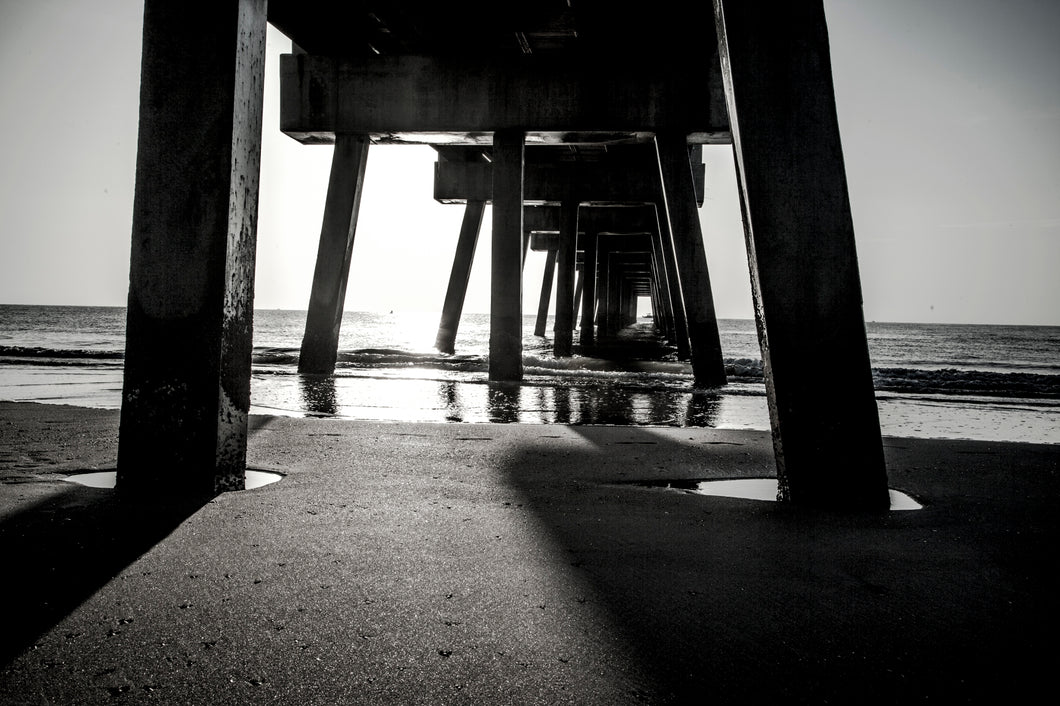 Beneath the Pier (2018) by Eric Christopher Jackson