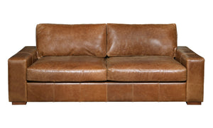 Maximus 3 seater leather sofa from Top Secret Furniture, Holmes Chapel