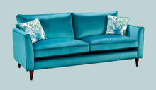 Load image into Gallery viewer, Plush Velvet 3 seater sofa range from Top Secret Furniture