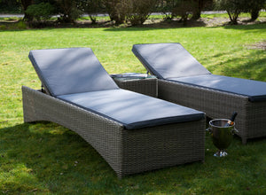 Rattan Sunbed Garden Loungers  from Top Secret Furniture, Holmes Chapel