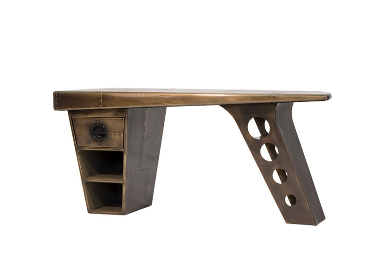 Aviator Half Wing Desk available from Top Secret Furniture, Holmes Chapel, Cheshire