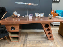 Load image into Gallery viewer, Aviator Half Wing Desk available from Top Secret Furniture, Holmes Chapel, Cheshire