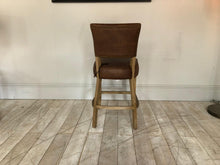 Load image into Gallery viewer, Derry Leather bar stools available from Top Secret Furniture