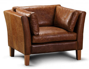 Barton leather Arm Chair