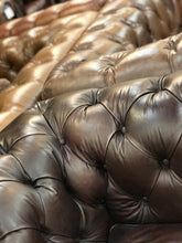 Load image into Gallery viewer, Chesterfield Leather Sofas from Top Secret Furniture Outlet Village Cheshire