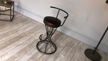 Load image into Gallery viewer, Spiral Bar stool from Top Secret Furniture