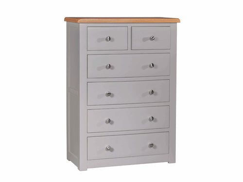 Stone 4+2 Chest of Drawers