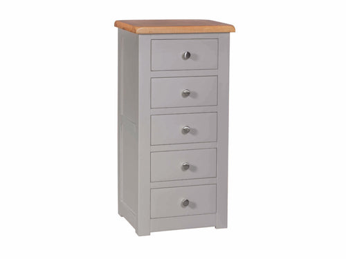 Stone 5 Drawer Tallboy